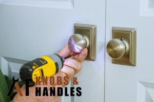 door-knob-plate-being-drilled-door-knob-handle-installation-a1-knobs-&-handles-singapore (1)