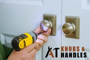 door-knob-plate-being-drilled-door-knob-handle-installation-a1-knobs-&-handles-singapore (2)