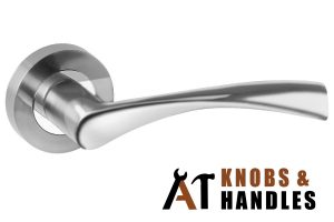 lever-on-rose-door-handle-types-a1-knobs-&-handles-singapore