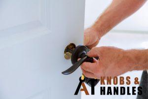repairing-black-loose-door-handle-a1-knobs-&-handles-singapore