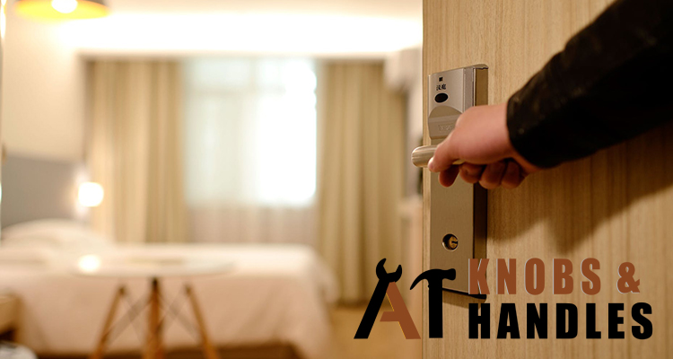 hand-on-door-lever-handle-a1-knobs-and-handles-singapore